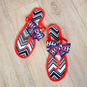 Missoni Gelly sandal with Accent Bow